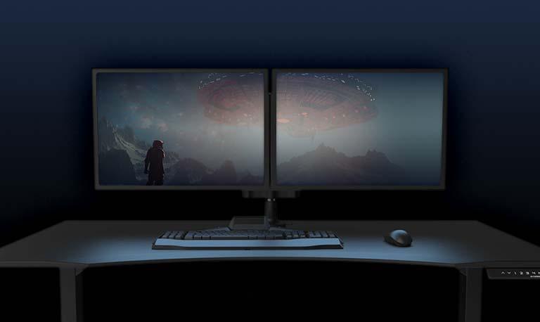 Dual Monitor Gaming